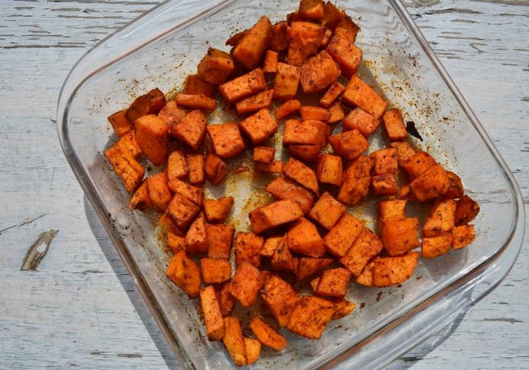 Sweet Potato & Avocado Fusion 4